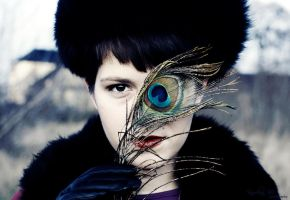 russian peacock by blooding