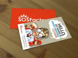 SOSFactory business card. by SOSFactory