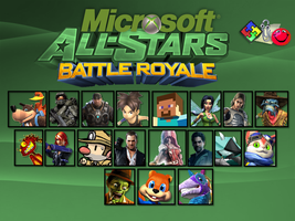 Microsoft (X-Box) All-Stars Battle Royale by Alexray35
