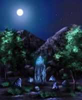 The druid's stone by Lauryell
