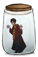 Potter in a Jar by camibee