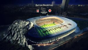 Besiktas Vodafone Arena Stadium by eaglelegend