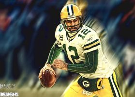 Aaron Rodgers Wallpaper by tommyven