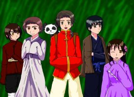 Meet The Asians by kinyomitsu