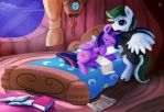 Good Night Sweet Princess by LoyalWing