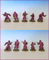 Miniatures - Pulp Cultists 2 by Bjerg