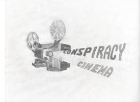 Conspiracy Cinema by dizdrawspictures