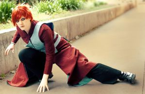 Naruto: Sabaku No Gaara by Rose-Curel