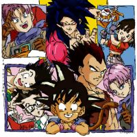Dragonball GT Gang by Dragonic