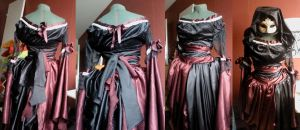 Vampire dress by -silverwing-