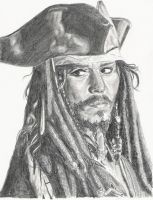 Johnny Depp by wickedGalinda