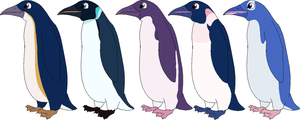 [CLOSED] Penguin adoptables by Nutty-Nutzis