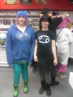 KarKat Cosplay With her friend by sasorilover01