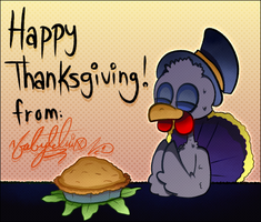 Happy Thanksgiving by FabyTetrix