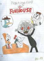 PnF Go to the Funhouse by SithVampireMaster27