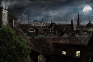 Rooftops by CordobezWeee