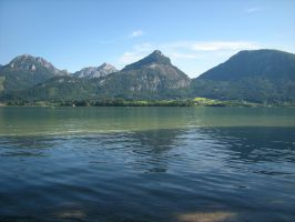 Austrian Alps Lake by MattEdson