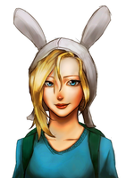 Adventure Time Fionna by o0Mythius0o