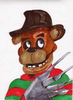 Five Nights with Freddy Krueger by jEROMEaNIMATIONS