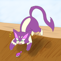 #509: Purrloin by SquidinaRowboat