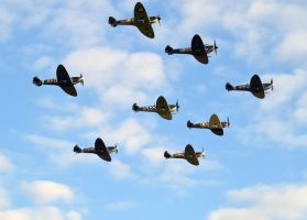 The Battle Of Britain Airshow, Duxford, 2015.. by homicidal45