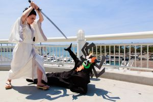 Aku and Jack: Before The Final Blow Was Struck... by effektdmentality