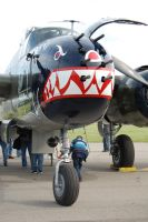 B-25J 'Betty's Dream' - Doolittle 70th Anniversary by comradeloganov