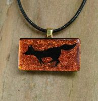 Fox Run Fused Glass by FusedElegance