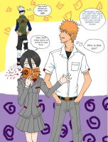Bleach meets Naruto- theBOOk by snsl5433