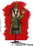 WW 1 German pilot by Orestix