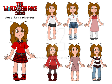 WHR Series: Amy's Earth Wardrobe by WorldHero