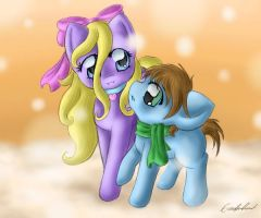 Brother and Sister by SpectralPony