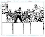 Avenging Spider Man 1 Pages 8 to 9 WIP Ink Update by BigBlue2007