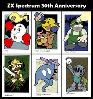 ZX Spectrum 30th Anniversary by fryguy64