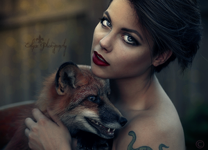 The Mother Fox by EclipxPhotography