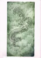 Chinese dragon by zsofiadome