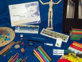 Artistic Supplies by Rabenstolz
