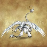 Endless Realms bestiary - Arnfer by jocarra