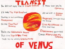 Transit of Venus Poster by Stickreaper93