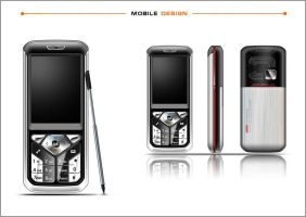mobile phone design by fancyfang