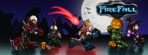 FireFall Halloween Banner by MaddMim