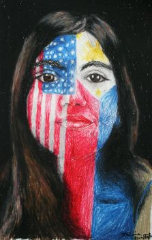 American-Filipino by Dhria
