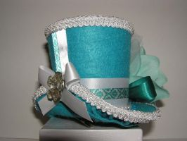 Teal Lolita by LieselsHatHutch