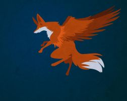 Foxes Flying by CosmicalFox