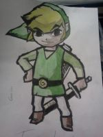 Toon Link by Cam-san