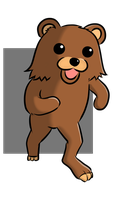 Pedo bear by anirhapsodist