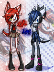 .:Red X Blue:. by DJ-StarCore
