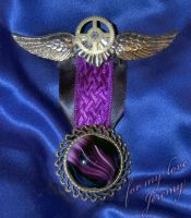 Steampunk Medal by BelovedUnderwing