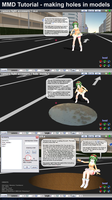 MMD Tutorial - Making Holes by Trackdancer