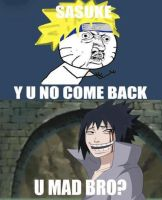 i laughed when i saw this naruto meme by Kitsunekitten1